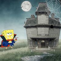 SpongBob Nick Haunted House Builder