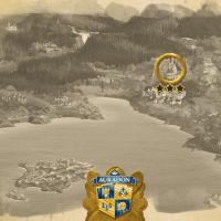 Auradon Hidden Mystery Map